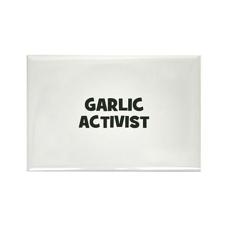 garlic activist Rectangle Magnet (100 pack)