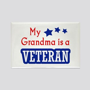 GRANDMA IS A VETERAN Magnets