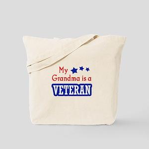 GRANDMA IS A VETERAN Tote Bag