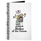 Mother of the groom Journals & Spiral Notebooks