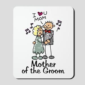 Cartoon Groom's Mother Mousepad