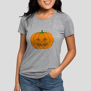Jack O Lantern Womens Tri-blend T-Shirt
