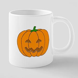 Jack O Lantern 20 oz Ceramic Mega Mug