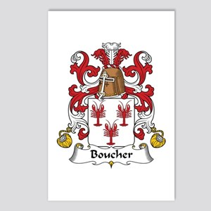 Boucher Postcards (Package of 8)