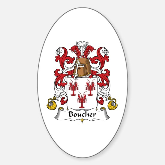 Boucher Oval Decal