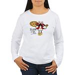 Pizza Pi Long Sleeve T-Shirt