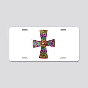 King of Kings Cross Psychedelic Aluminum License P