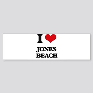 I Love Jones Beach Bumper Sticker