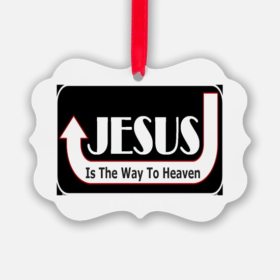 Jesus is the way Ornament