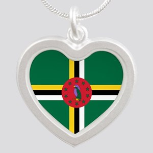 Flag of Dominica Necklaces