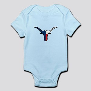 TEXAS FLAG LONGHORN Body Suit