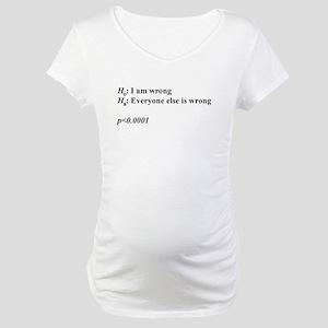Statistics Maternity T-Shirt
