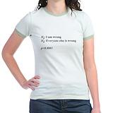 Statistics Jr. Ringer T-Shirt
