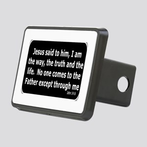 Jesus said to him Rectangular Hitch Cover