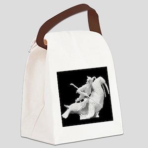 God statue Canvas Lunch Bag