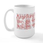 Murphy's Law Large Mug