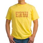 Murphy's Law Yellow T-Shirt