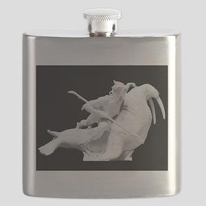 God statue Flask