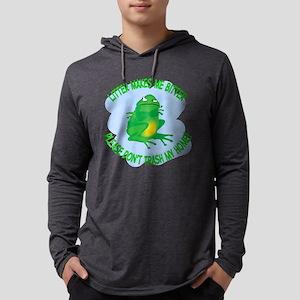 Bitter Litter Frog Mens Hooded Shirt