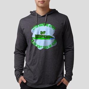 Bitter Litter gator Mens Hooded Shirt