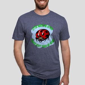 bitter litter Lady Bug Mens Tri-blend T-Shirt
