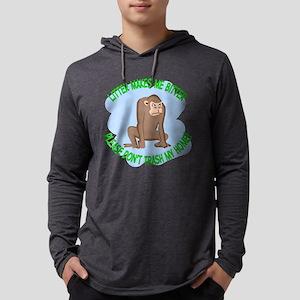 Bitter Litter Monkey Mens Hooded Shirt