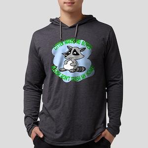 bitter litter raccoon Mens Hooded Shirt