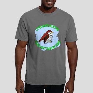 Bitter Litter Sparrow Mens Comfort Colors Shirt