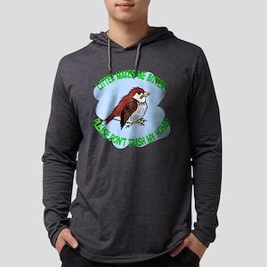 Bitter Litter Sparrow Mens Hooded Shirt