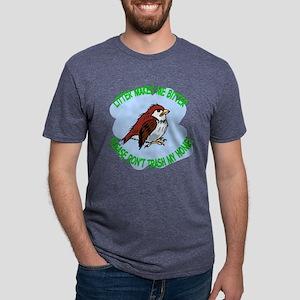 Bitter Litter Sparrow Mens Tri-blend T-Shirt
