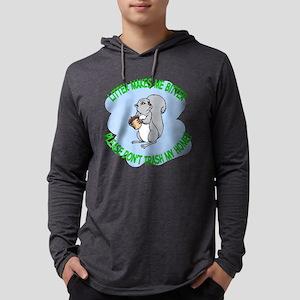Bitter Litter Squirrel Mens Hooded Shirt
