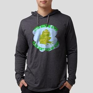 Bitter Litter Toad Mens Hooded Shirt