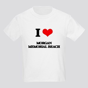 I Love Morgan Memorial Beach T-Shirt