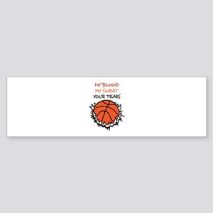 YOUR TEARS Bumper Sticker