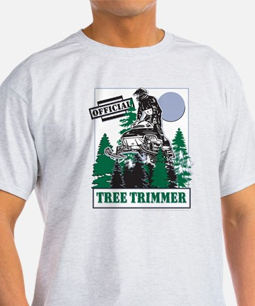 Official Snowmobiler Tree Tri T-Shirt