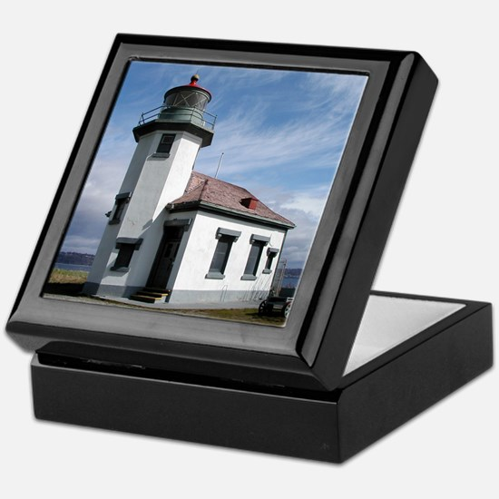 Point Robinson Lighthouse Keepsake Box