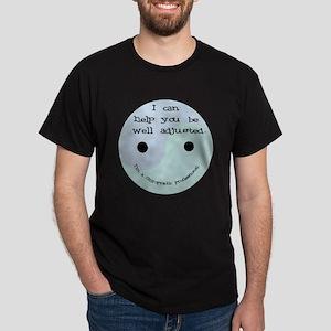 """""""Well Adjusted-Chiro"""" Dark T-Shirt"""