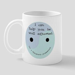 """""""Well Adjusted-Chiro"""" Mug"""