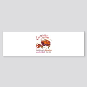 LOUISIANA COOKING Bumper Sticker