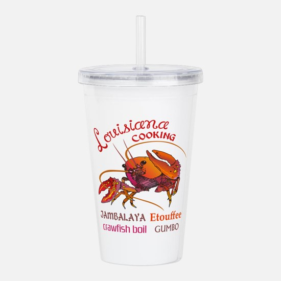 LOUISIANA COOKING Acrylic Double-wall Tumbler