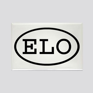 ELO Oval Rectangle Magnet