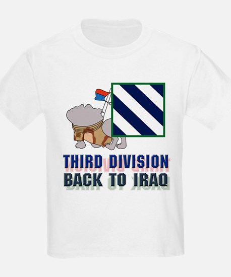 3rd Division Back To Iraq - Kids T-Shirt