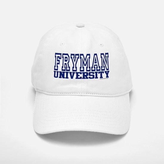 FRYMAN University Baseball Baseball Cap