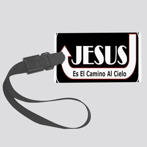 Jesus es el camino Large Luggage Tag