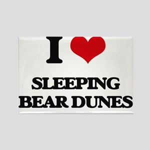 I Love Sleeping Bear Dunes Magnets