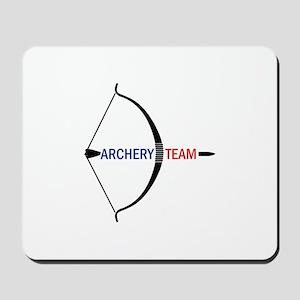 ARCHERY TEAM Mousepad