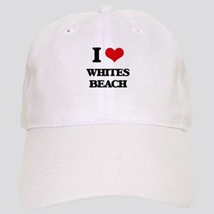 I Love Whites Beach Cap