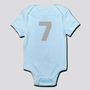 SILVER #7 Infant Bodysuit