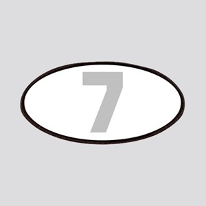 SILVER #7 Patches