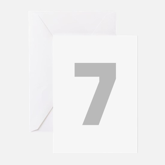 SILVER #7 Greeting Cards (Pk of 10)